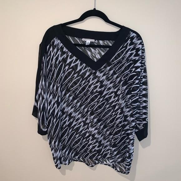 Dana Buchman Tops - Short sleeve blouse